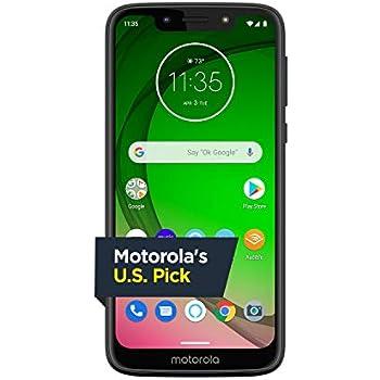 38f1e1c135 Amazon.com: Moto G7 Play with Alexa Push-to-Talk – Unlocked – 32 GB ...