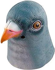 Pigeon Masks Halloween Costume Party Latex Animal Head Mask