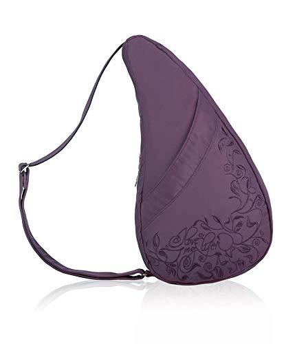 AmeriBag I Love My Life Small Microfiber Healthy Back Bag Tote Black one size Ameribag Bags