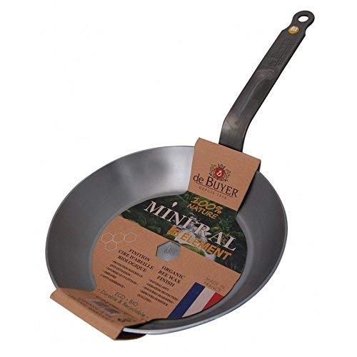 De Buyer Mineral B Element - Sartén de acero, 36 centímetros: Amazon.es: Hogar