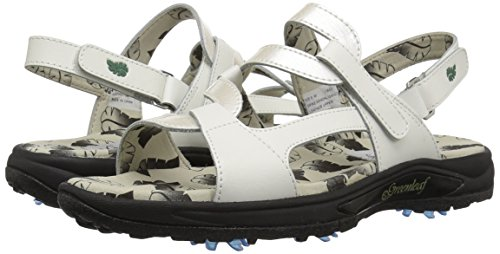 Pictures of Golfstream Women's Spike Sport Sandal Patent G4022 4