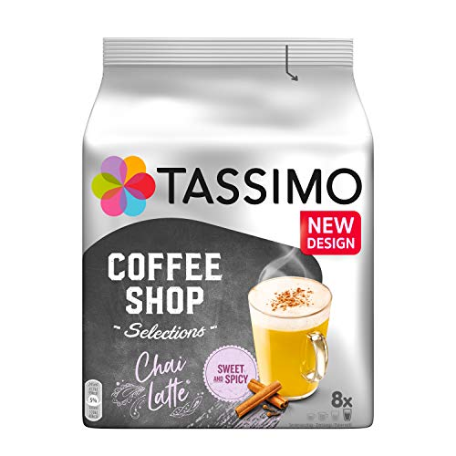 Tassimo Chai Latte, 5unidades (5x 188g)
