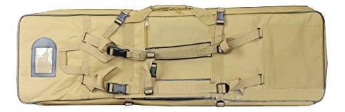A&N Airsoft Large 100cm Long Firearm Transportation Bag Tan by A&N