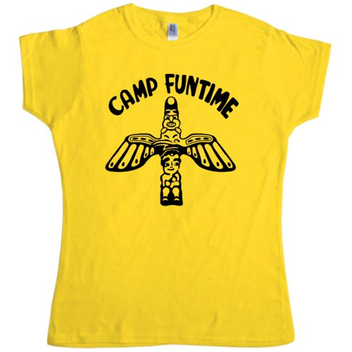 Womens Camp Funtime Tee