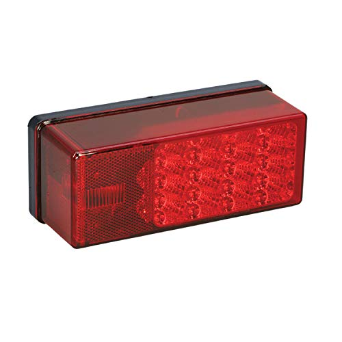 Wesbar 407530 Right Hand Low Profile LED Waterproof 7-Function Tail Light ()