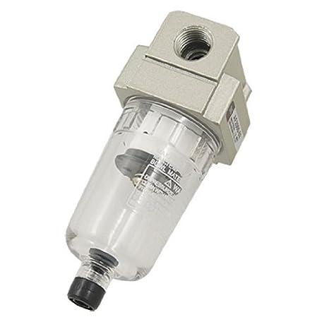 eDealMax AF2000-02 aleación de aluminio Compresor de aire Filtro Limpiador - - Amazon.com