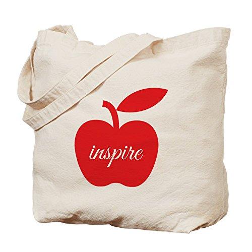 CafePress–profesores Inspire–Gamuza de bolsa de lona bolsa, bolsa de la compra