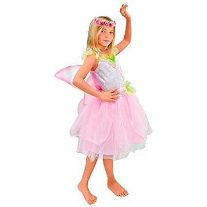 Disfraz Hada rosa niña infantil para Carnaval 10-12 años ...