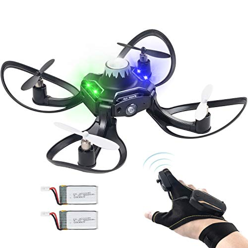 Andals Newest Gesture Control Drone Mini 2.4G 6 Axis RC Quadcopter Easy to Fly Great Gift Outdoor Fly Freely Gestures…
