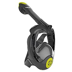 Seabeast Pro-N1 Full Face Snorkel Mask with 180° Large View