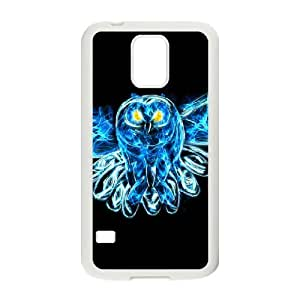 Diy Beautiful Owl Phone Case for samsung galaxy s5 White Shell Phone JFLIFE(TM) [Pattern-2]