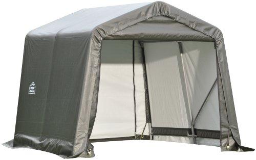 - ShelterLogic 71823 Grey 8'x16'x8' Peak Style Shelter