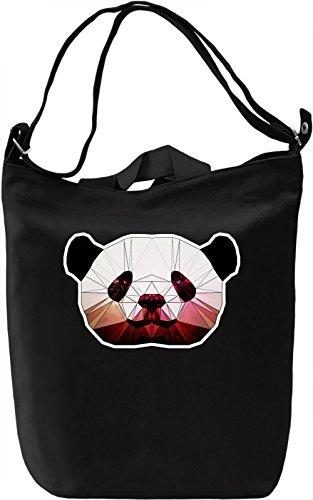 Cute Panda Borsa Giornaliera Canvas Canvas Day Bag  100% Premium Cotton Canvas  DTG Printing 
