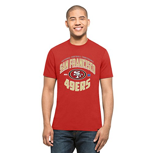 o 49ers Men's Diamond King Splitter Tee, Small, Red ()
