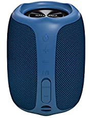 Creative Muvo Play Portable Bluetooth 5.0 Speaker, IPX7 Waterproof for Outdoors with Siri and Google Assistant - Blue