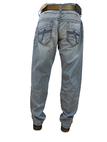 CAMP DAVID JEANS GREY USED C622 DENIM L36