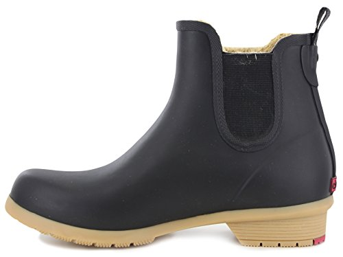 Bootie Lined Chelsea Black Fleece Bainbridge P0fUOO