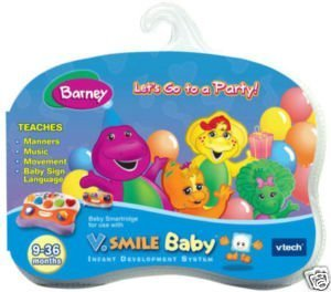 V.Smile Baby Barney Let's Go to a Party!