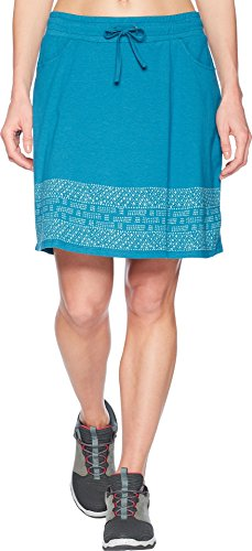 Toad&Co Women's Tica Skirt Deepwater Border Print ()