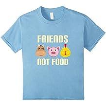 Friends Not Food T-Shirt - Vegan and Vegetarian Friendly Tee