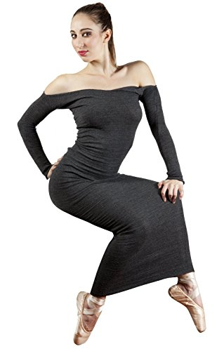 Bodycon Luxurious Maxi Sweater Dress by KD dance New York Made In USA