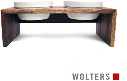 Wolters Gohan Doppelnapf teak S (2 x 0,4 L)