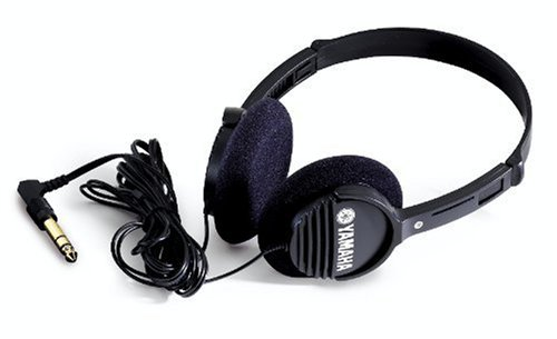 Yamaha RH1C Portable Headphones, Black Black Portable Stereo Headphones