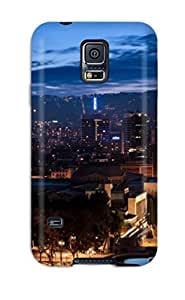 Fashion CHgapCH61bSeHW Case Cover For Galaxy S5(artistic Barcelona )