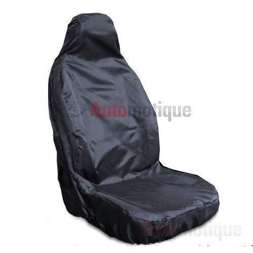 HEAVY DUTY SINGLE DRIVERS SEAT COVER BLACK AUTOMOTIQUE MERCEDES SPRINTER VAN 06+
