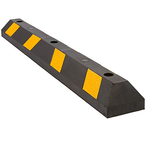 48 Rubber Parking Block Curb for Lot or Driveway