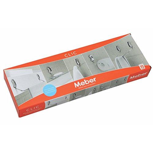 Kit Acessórios Meber Clic 5pçs acessórios para banheiro