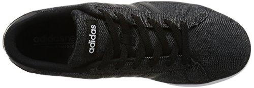 Adidas SE Daily Vulc, Scarpe da Ginnastica Unisex – Adulto, Nero (Negro/Ftwbla), 40/41 EU