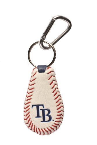 GameWear 4421401742 Tampa Bay Rays Classic Baseball Keychain