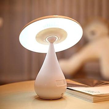 Flikool LED Recargable Mesa Noche Lampara de Escritorio USB en ...