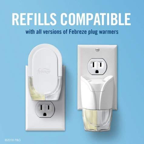 Febreze Plug Air Freshener, Hawaiian Aloha, 2 Oil Warmers + 4 Scented Oil Refills, by Febreze (Image #3)