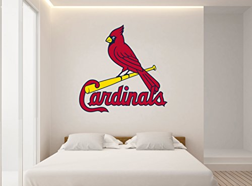 (Ottosdecal Baseball Team - Wall Decal Vinyl Sticker for Home Interior Decoration Doors Laptop, Window, Mirror, Car (30