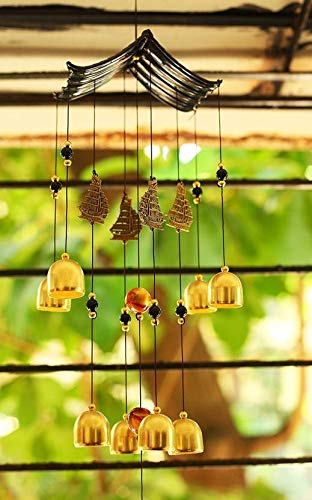 Paradigm Pictures Colorful Wind Chimes for Home Positive Energy || Home Decoration Items