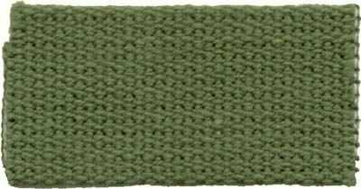 Green Natural Cotton Shaker Furniture Seat Tape (Sold by The Yard) 1