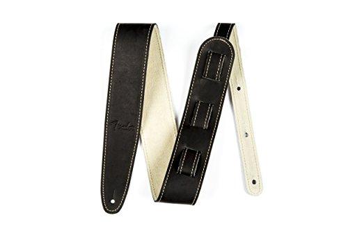 Fender Baseball Glove Leather Guitar Strap - (Best Guitar Strap With Glove Leathers)