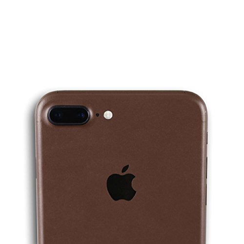 AppSkins Vorderseite iPhone 7 PLUS Color Edition brown