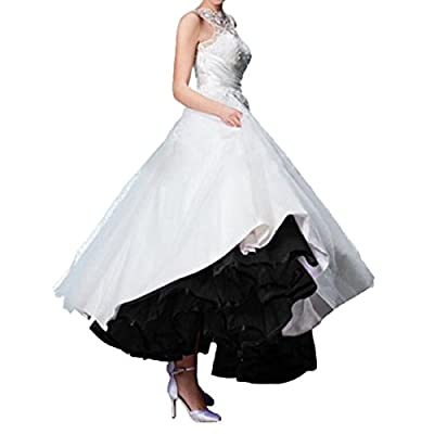 Quesera Women's Ankle Length Petticoat Crinoline Wedding Prom Slip Underskirt