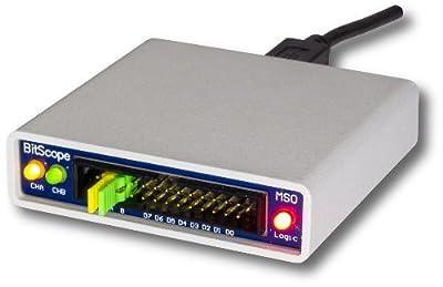 USB BitScope 10 - Fully Featured USB Mixed Signal Oscilloscope, Waveform, Clock Generator, and Logic Analyzer