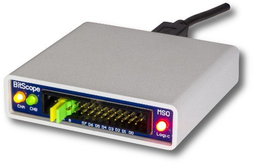 USB BitScope 10 - Fully Featured USB Mixed Signal Oscilloscope, Waveform, Clock Generator, and Logic Analyzer (Oscilloscope Spectrum Analyzer)