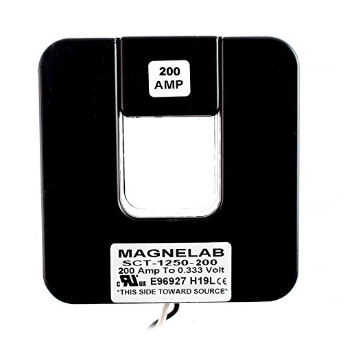 - Magnelab SCT-1250-200 Split Core Current Transformer (CT) 1.25