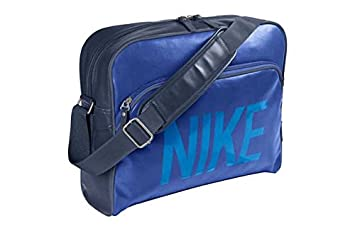 dc878e13b4 Nike Heritage Track Messenger Bag - Blue.  Amazon.co.uk  Luggage