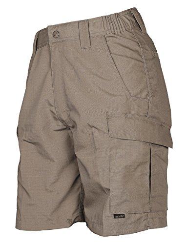 TRU-SPEC Men's Shorts, TRU Simply Tactical P/C R/S w/ cargo pockets, Coyote, 34