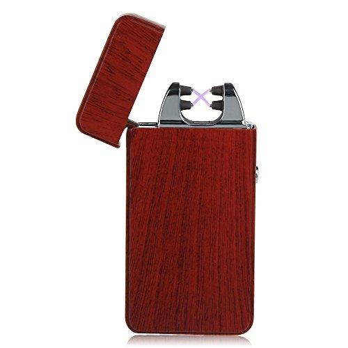Kivors USB Rechargeable Flameless Electronic Dual Pulse Double Arc Cigarette Lig…
