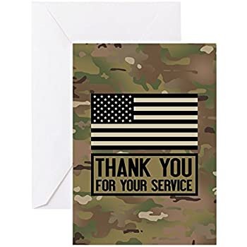 thank you for your service note