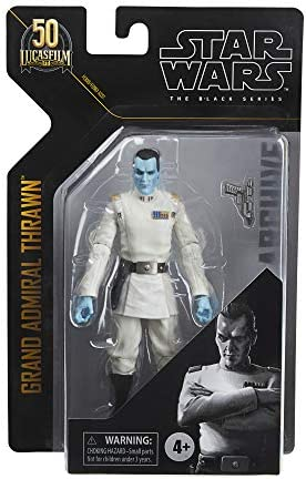 Star Wars The Black Series Archive Grand Admiral Thrawn Toy 6-Inch-Scale Rebels Collectible Figure, Toys Kids Ages 4 and Up
