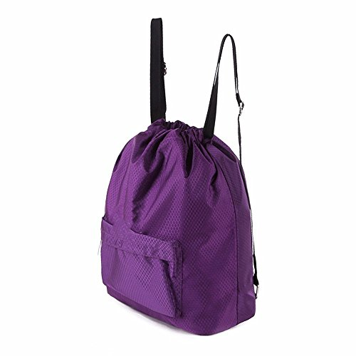 Swimming Bag, Dry And Wet Separation Bag Men And Women Outdoor Sports Shoulder Bag, Beach Bag, Violet